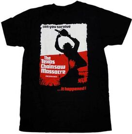 Texas Chainsaw Massacre Uncensored T-Shirt Sheer