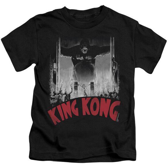 King Kong At The Gates Poster Short Sleeve Juvenile T-Shirt