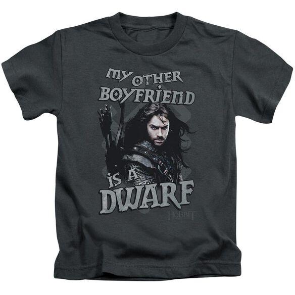 The Hobbit Other Boyfriend Short Sleeve Juvenile Charcoal T-Shirt