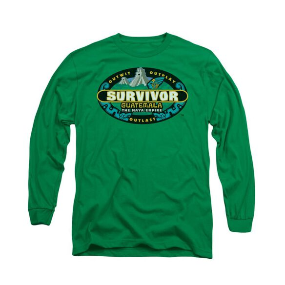Survivor Guatemala Long Sleeve Adult Kelly T-Shirt