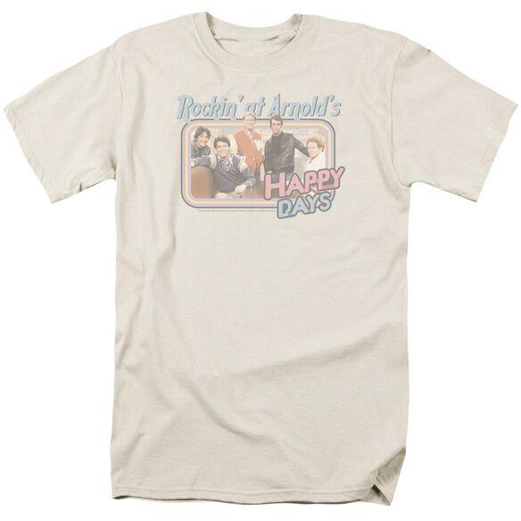 HAPPY DAYS ROCKIN AT ARNOLDS - S/S ADULT 18/1 - CREAM T-Shirt