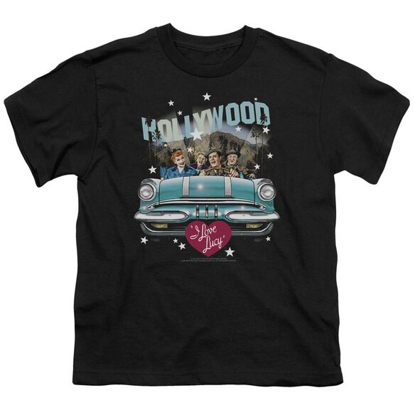 I Love Lucy Hollywood Road Trip Short Sleeve Youth T-Shirt
