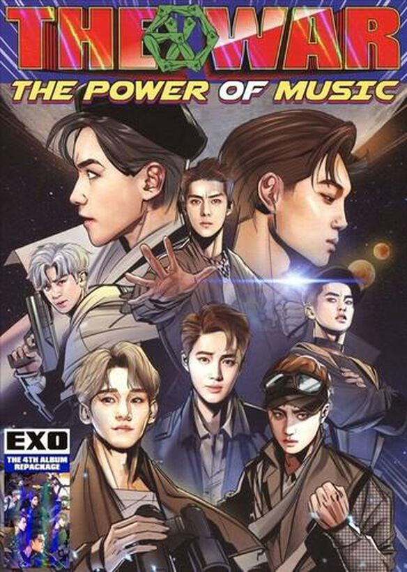 War: The Power Of Music (Korean Version) (Asia)