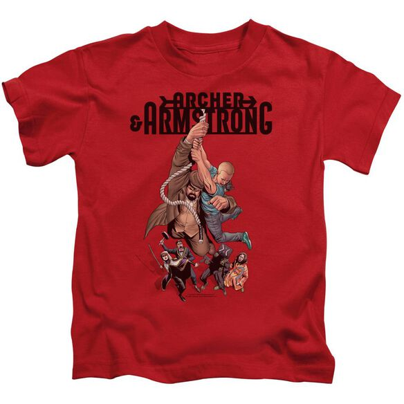Archer & Armstrong Hang In There Short Sleeve Juvenile T-Shirt
