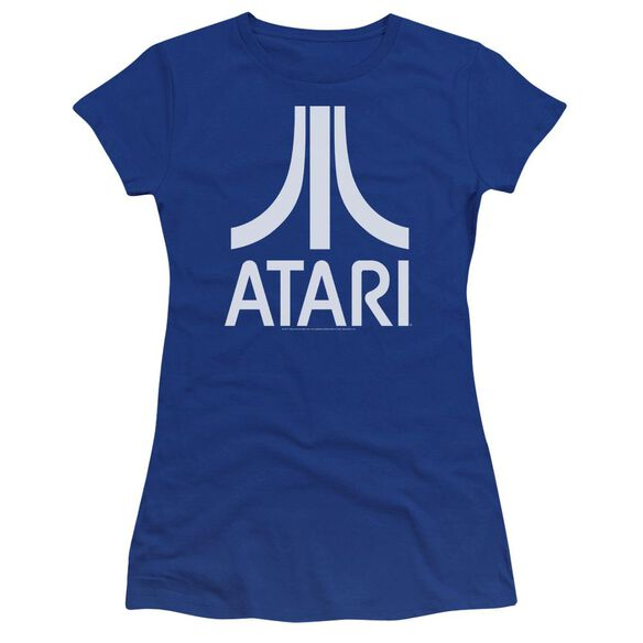 Atari Atari Logo Hbo Short Sleeve Junior Sheer Royal T-Shirt