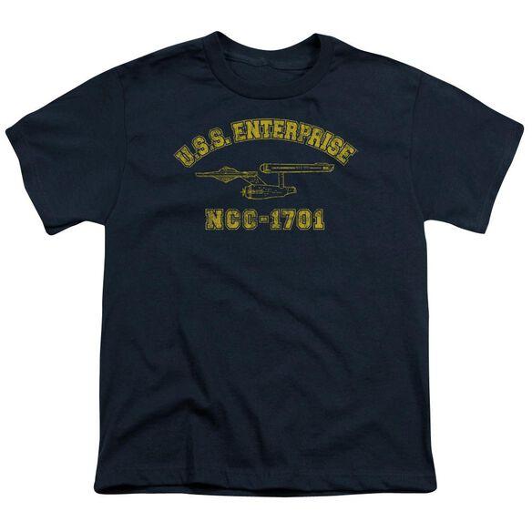 Star Trek Enterprise Athletic Short Sleeve Youth T-Shirt