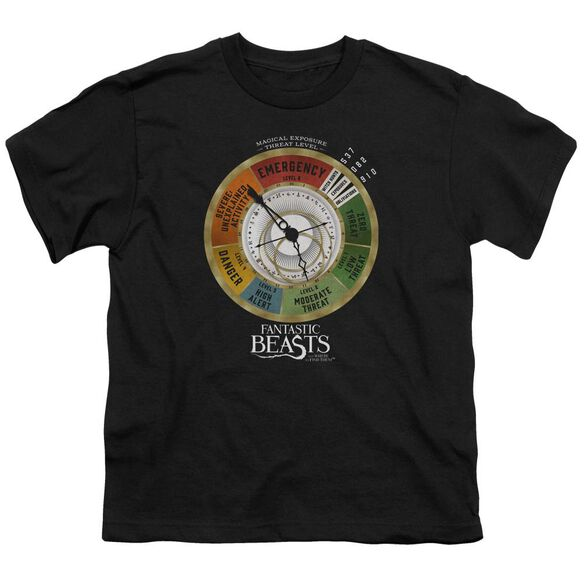 Fantastic Beasts Threat Gauge Short Sleeve Youth T-Shirt