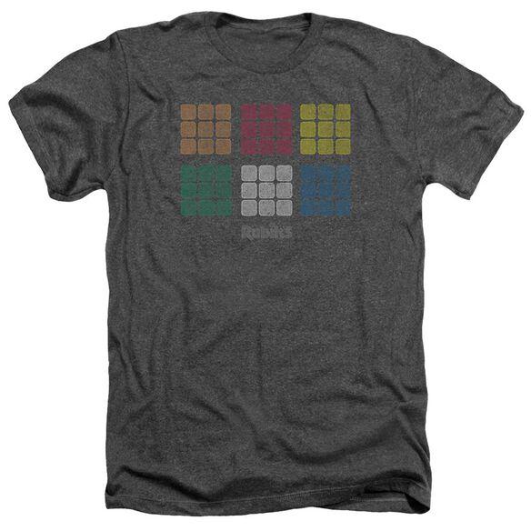 Rubik's Cube Minimal Squares Adult Heather