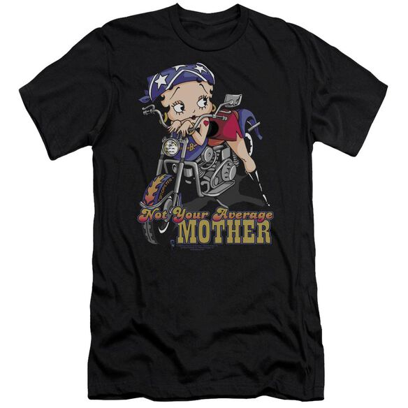 Betty Boop Not Your Average Mother Premuim Canvas Adult Slim Fit