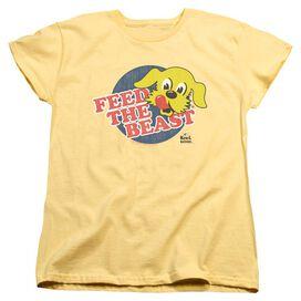 Ken L Ration Feed The Beast Short Sleeve Womens Tee T-Shirt