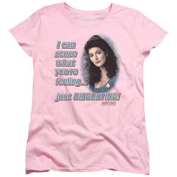Star Trek No Empathy Short Sleeve Womens Tee T-Shirt
