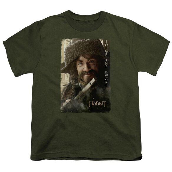 The Hobbit Bofur Short Sleeve Youth Military T-Shirt