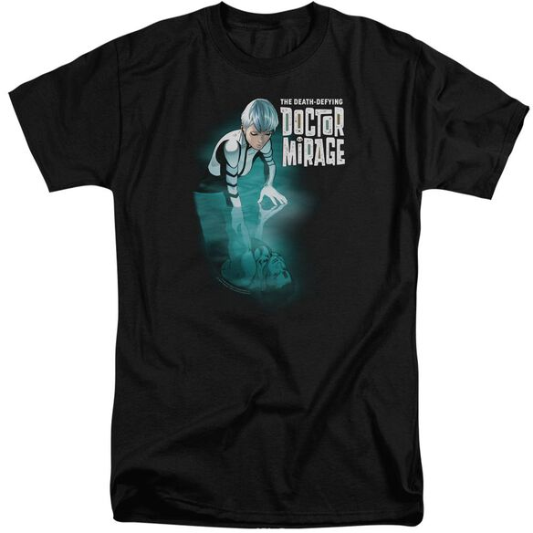 Doctor Mirage Crossing Over Short Sleeve Adult Tall T-Shirt