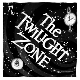 Twilight Zone Another Dimension Bandana White