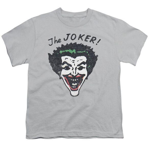 Batman Retro Joker Short Sleeve Youth T-Shirt