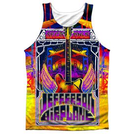Jefferson Airplane San Francisco Adult 100% Poly Tank Top