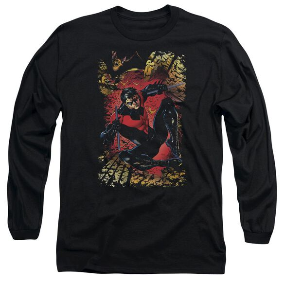 Jla Nightwing #1 Long Sleeve Adult T-Shirt