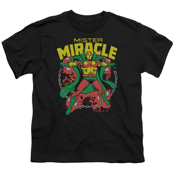 Dc Mr Miracle Short Sleeve Youth T-Shirt