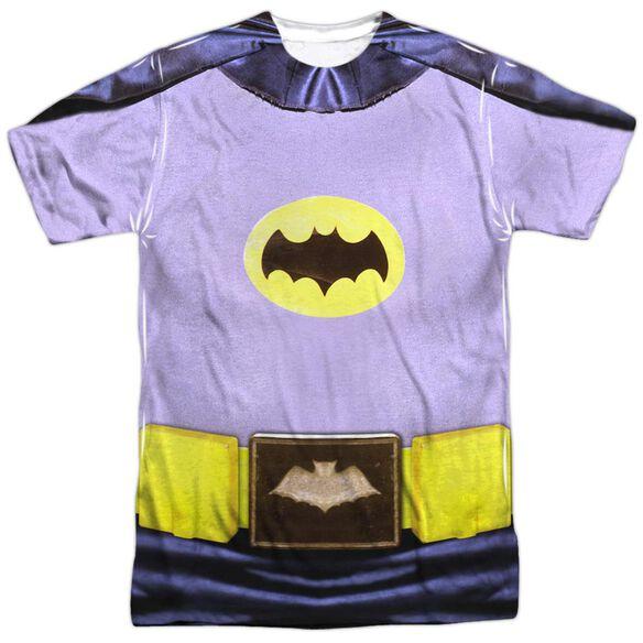 Batman Classic Tv Batman Costume Short Sleeve Adult Poly Crew T-Shirt