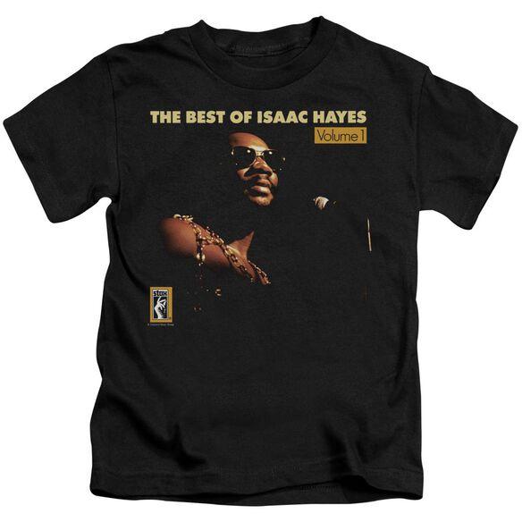 Isaac Hayes Chain Vest Short Sleeve Juvenile Black T-Shirt