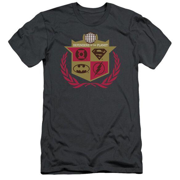 Jla Defenders Short Sleeve Adult T-Shirt