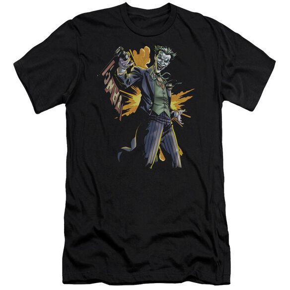 Batman Joker Bang Short Sleeve Adult T-Shirt