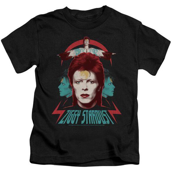David Bowie Ziggy Heads Short Sleeve Juvenile T-Shirt