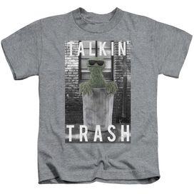 Sesame Street Talkin Trash Short Sleeve Juvenile Athletic T-Shirt