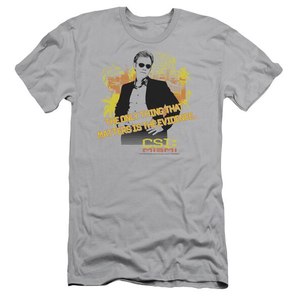 CSI MIAMI HAND ON HIPS - S/S ADULT 30/1 - SILVER T-Shirt