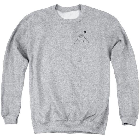 Twin Peaks Peak Pie Adult Crewneck Sweatshirt Athletic