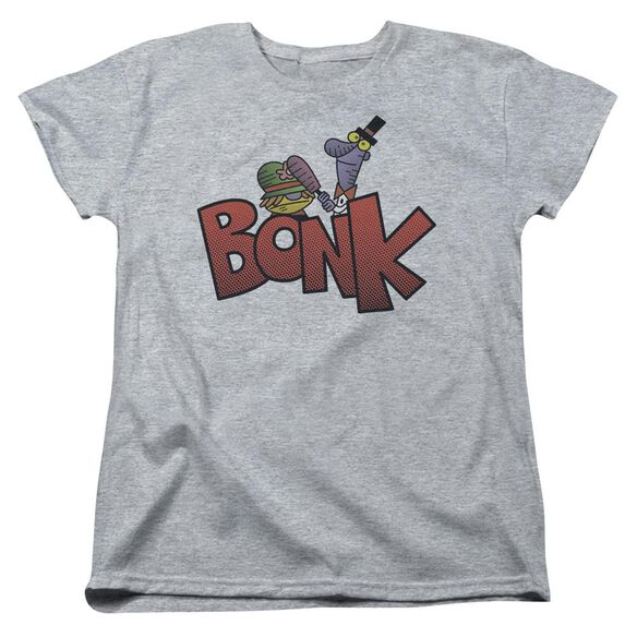 Dexters Laboratory Bonk Short Sleeve Womens Tee Athletic T-Shirt