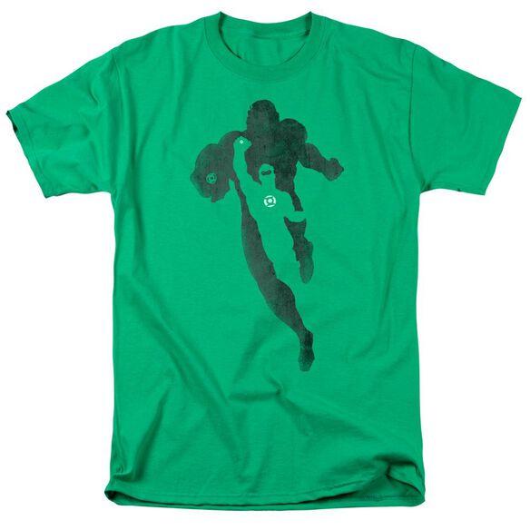 Dc Lantern Knockout Short Sleeve Adult Kelly Green T-Shirt
