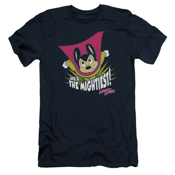 Mighty Mouse The Mightiest Short Sleeve Adult T-Shirt
