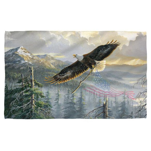 Wild Wings Rebuilding America 2 Hand/Golf Towel (16x24)