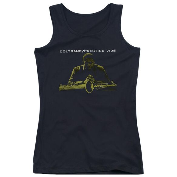 John Coltrane Mellow Yellow Juniors Tank Top