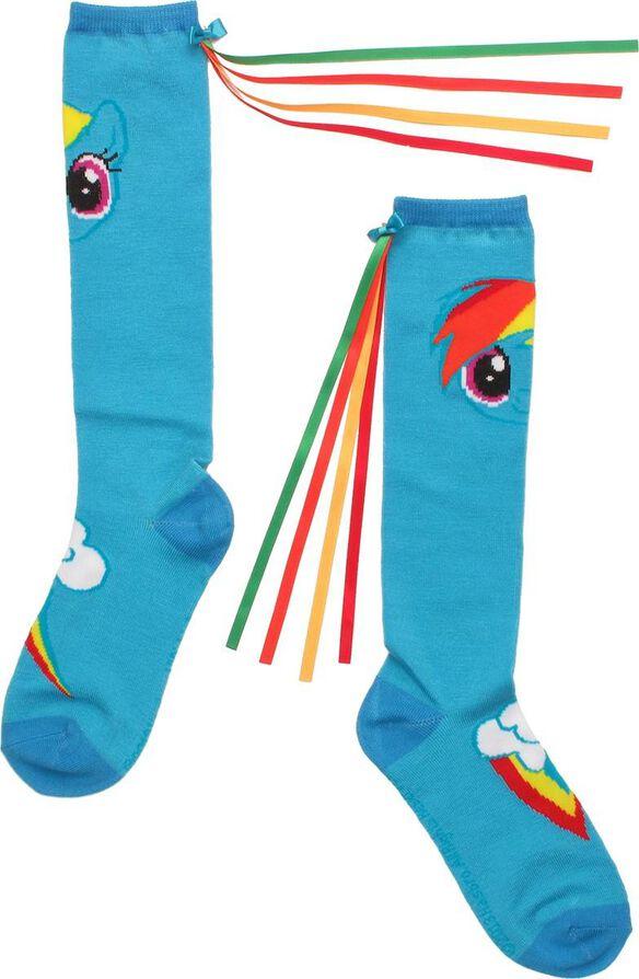 48b0d5aabaa My Little Pony Rainbow Dash Ribbon Knee High Socks
