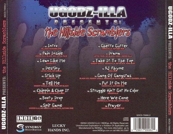 Ugodz Illa Presents: Hillside Scramblers
