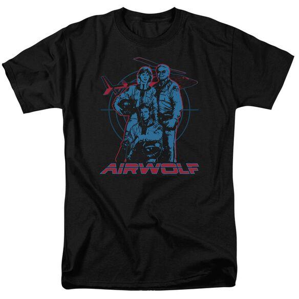 Airwolf Graphic Short Sleeve Adult T-Shirt