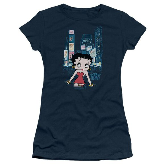 Betty Boop Square Short Sleeve Junior Sheer T-Shirt