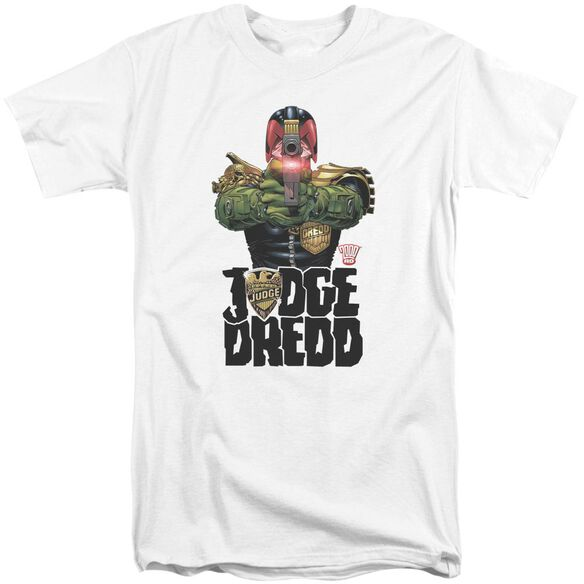 Judge Dredd In My Sights Short Sleeve Adult Tall T-Shirt