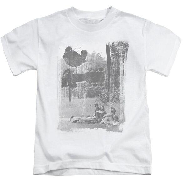 Woodstock Hippies In A Field Short Sleeve Juvenile T-Shirt