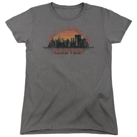 Bsg Caprica City Short Sleeve Womens Tee T-Shirt