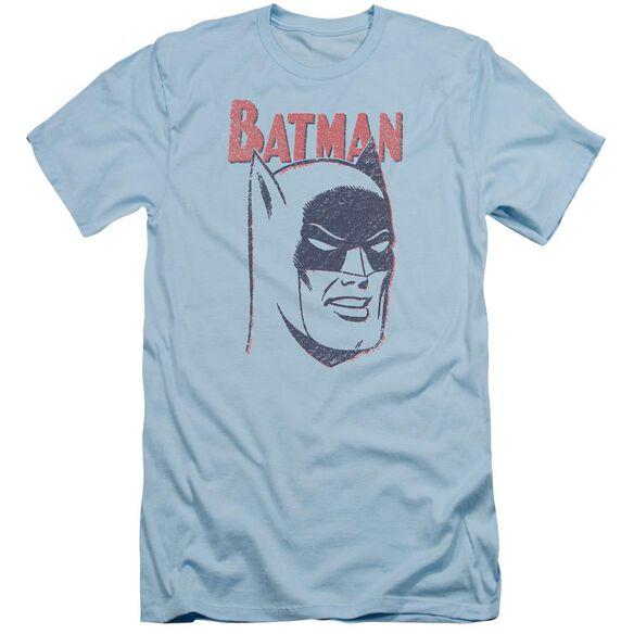 Batman Crayon Man Short Sleeve Adult Light T-Shirt
