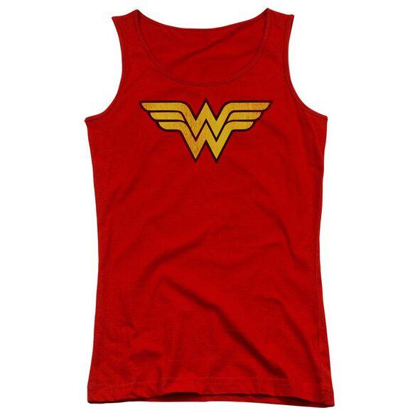 Dc Wonder Woman Logo Dist Juniors Tank Top