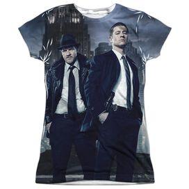 Gotham City Nights Short Sleeve Junior Poly Crew T-Shirt