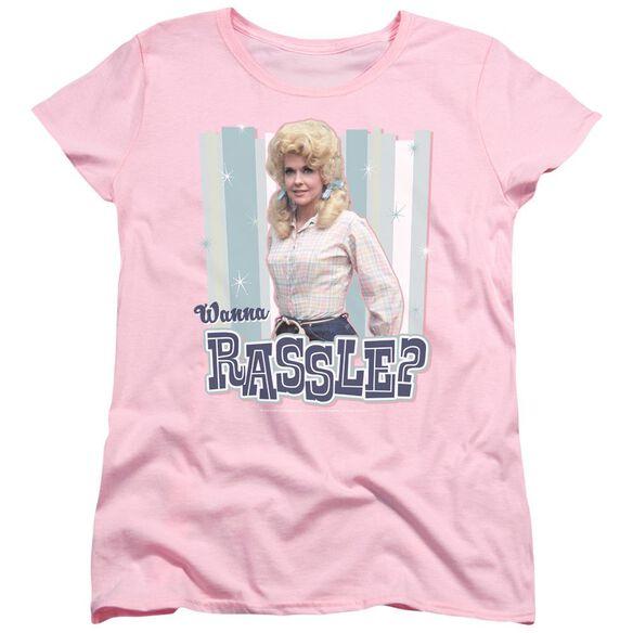 Beverly Hillbillies Wanna Rassle Short Sleeve Womens Tee T-Shirt