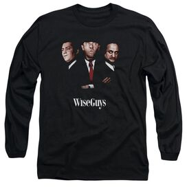 Three Stooges Wiseguys Long Sleeve Adult T-Shirt