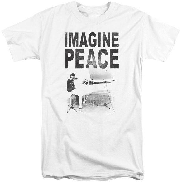 John Lennon Imagine Short Sleeve Adult Tall T-Shirt
