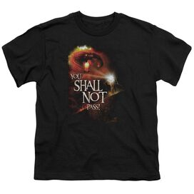 Lor You Shall Not Pass Short Sleeve Youth T-Shirt
