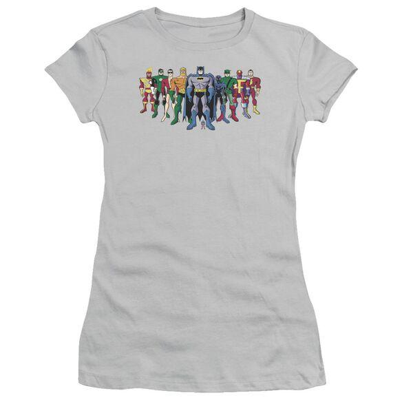 Batman Bb Pick Your Hero Short Sleeve Junior Sheer T-Shirt